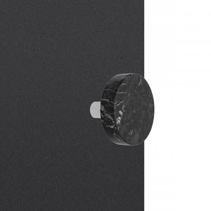 Dot Hanger - Black Marble