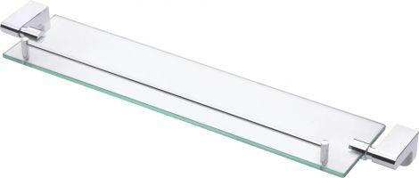Forme Glass Shelf (Chrome)