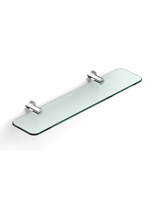 Pegasi Glass Shelf 450mm (Chrome)