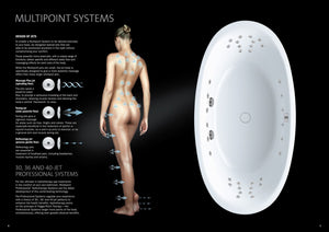 Kaldewei Classic Duo Multipoint Hydrotherapy Spa Bath