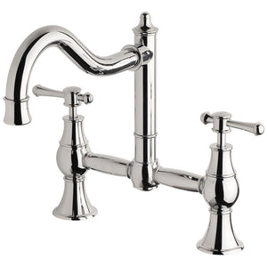 Phoenix Tapware Nostaliga Exposed Sink Set (Chrome) NS135CHR