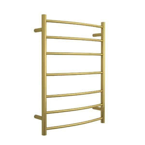 Thermorail Heated Towel Rail 7 Bars Gold CR44GM