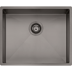 Oliveri Spectra Single Bowl Sink (Gun Metal) SB50GM
