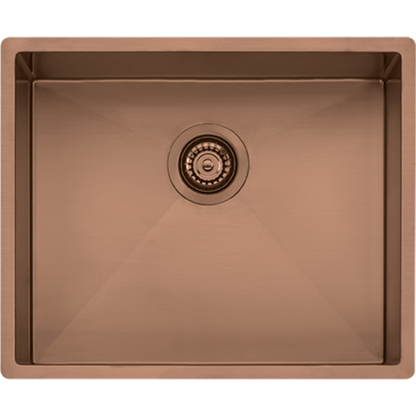 Oliveri Spectra Single Bowl Sink (Copper) SB50CU