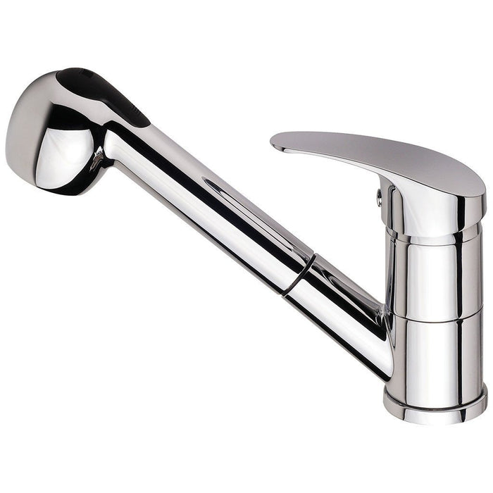 Ivy Sink Mixer with Pull Out Spray (Chrome)