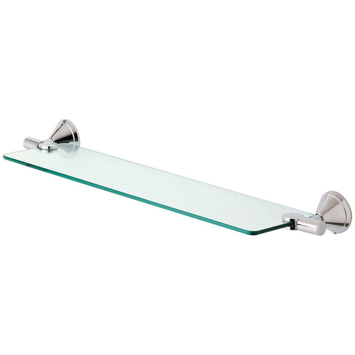 Ivy Glass Shelf (Chrome)