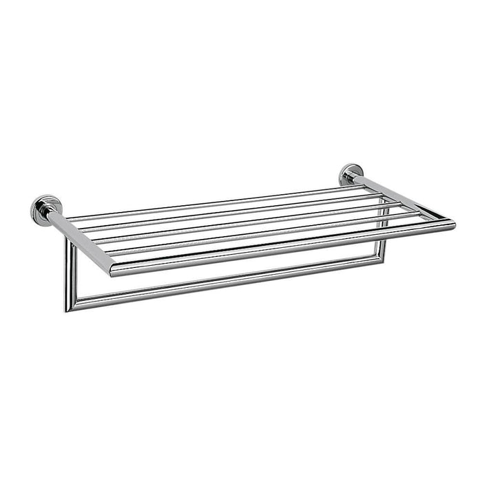 Plaza Towel Rack with Rail 60cm (Chrome)