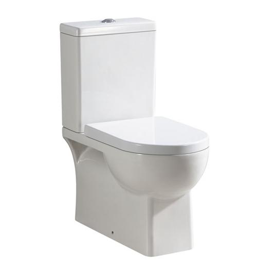 Ascot Close Coupled BTW Toilet Suite