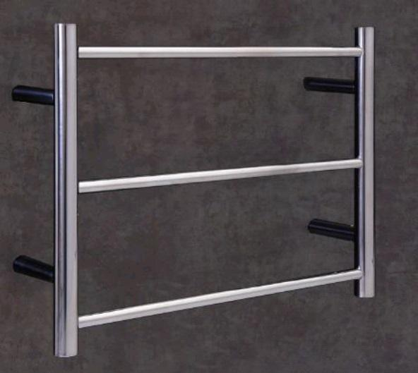 Thermorail Budget Heated Towel Rail Round 3 Bars BS24M