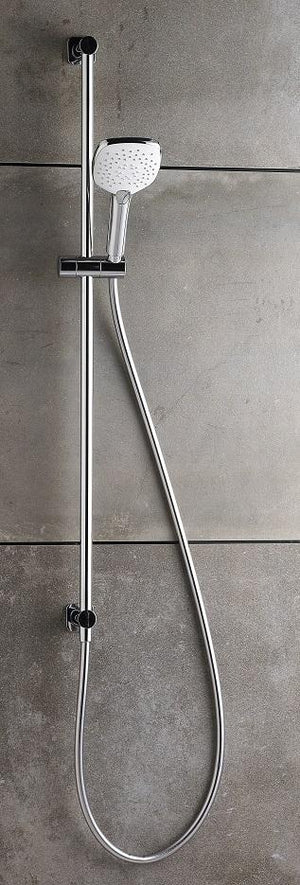 Zeos Slide Shower Inflow 900mm (Chrome)