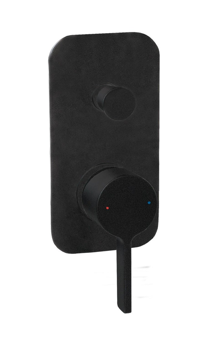 Martini Wall Diverter (Matte Black)