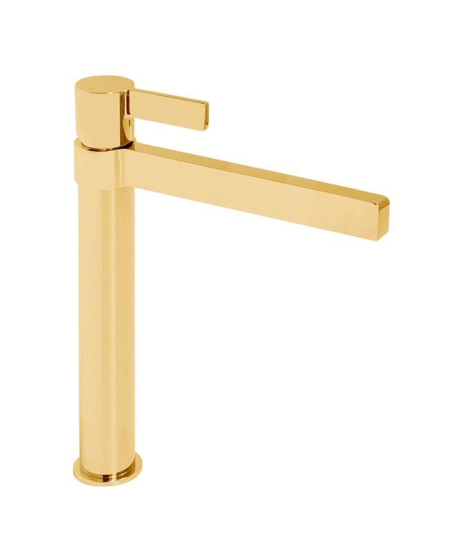 Martini Ritz Extended Basin Mixer (Polished Gold)
