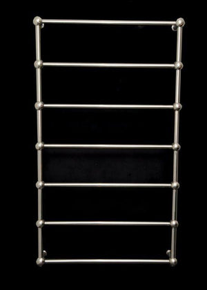 Thermorail Heritage Heated Towel Rail Straight/Round/Ball Detail 7 Bars SB79M