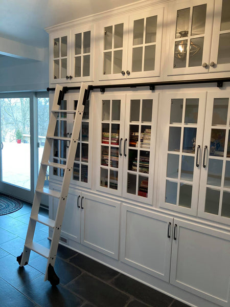 Custom Library Built In by B&A Woodworks, Pennsylvania Cabinet Maker