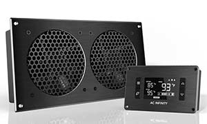 Optional AC Infinity Cooling Fans for B&A Media Consoles