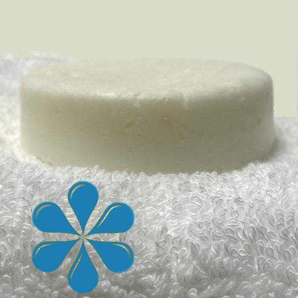 POSY shampoo bar with frankincense and orange essential oils