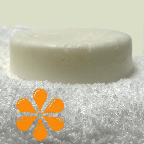 Posy rosemary and orange shampoo bar