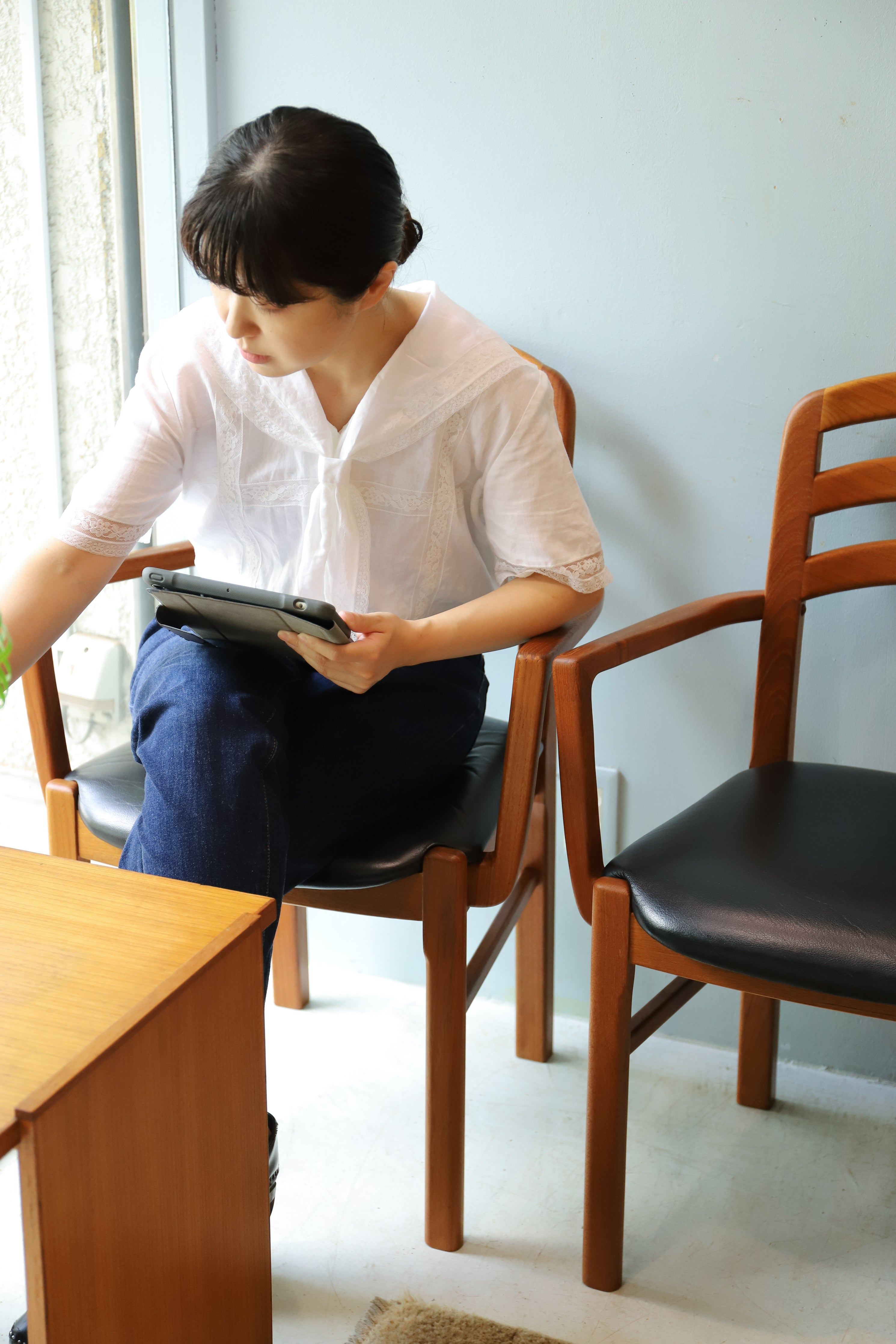 Danish Vintage Teakwood Arm Chair/デンマークヴィンテージ アームチェア チーク材