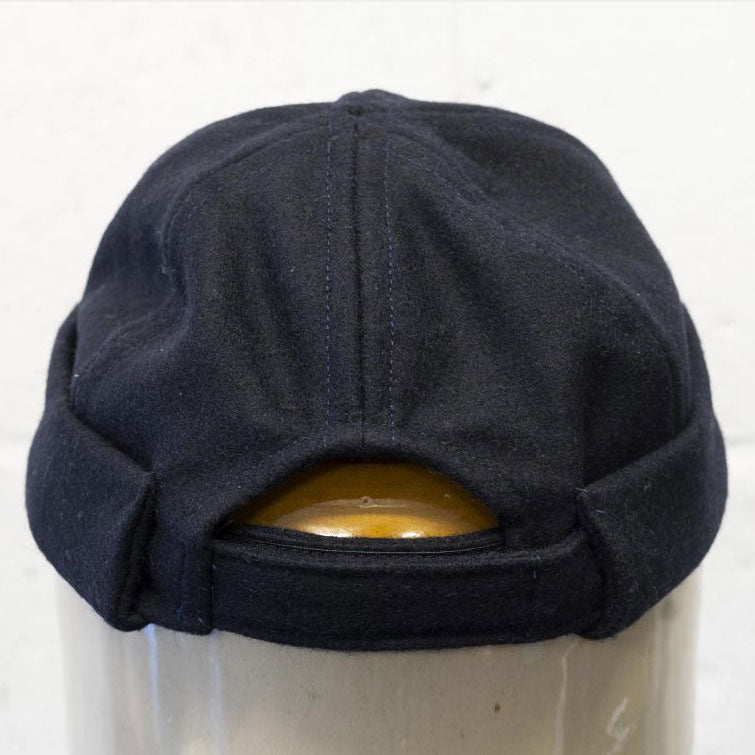 The Watchcap - Navy Wool Melton