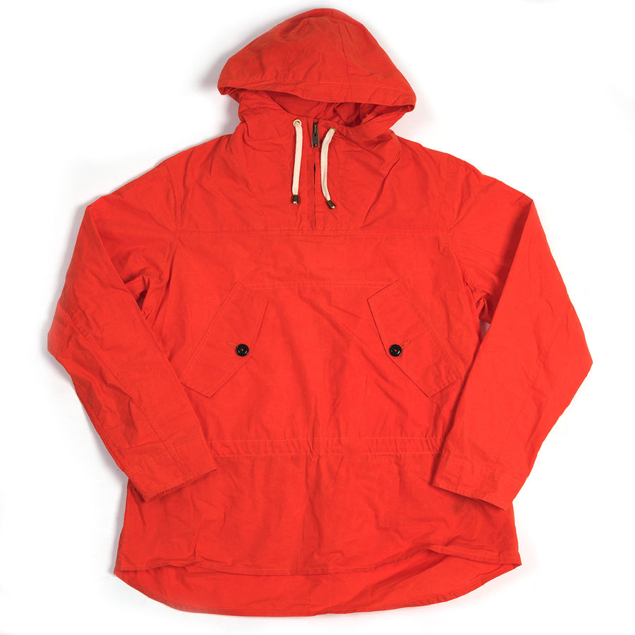 The Hooded Smock - Lifeboat Orange