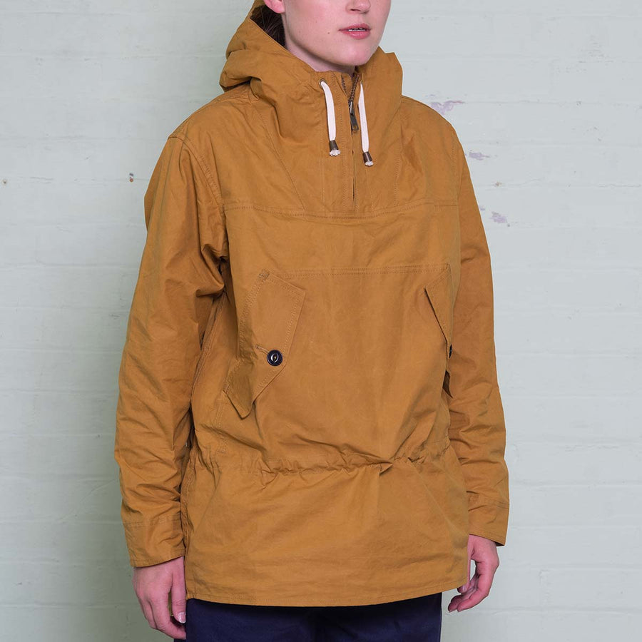 The Hooded Smock - Mustard