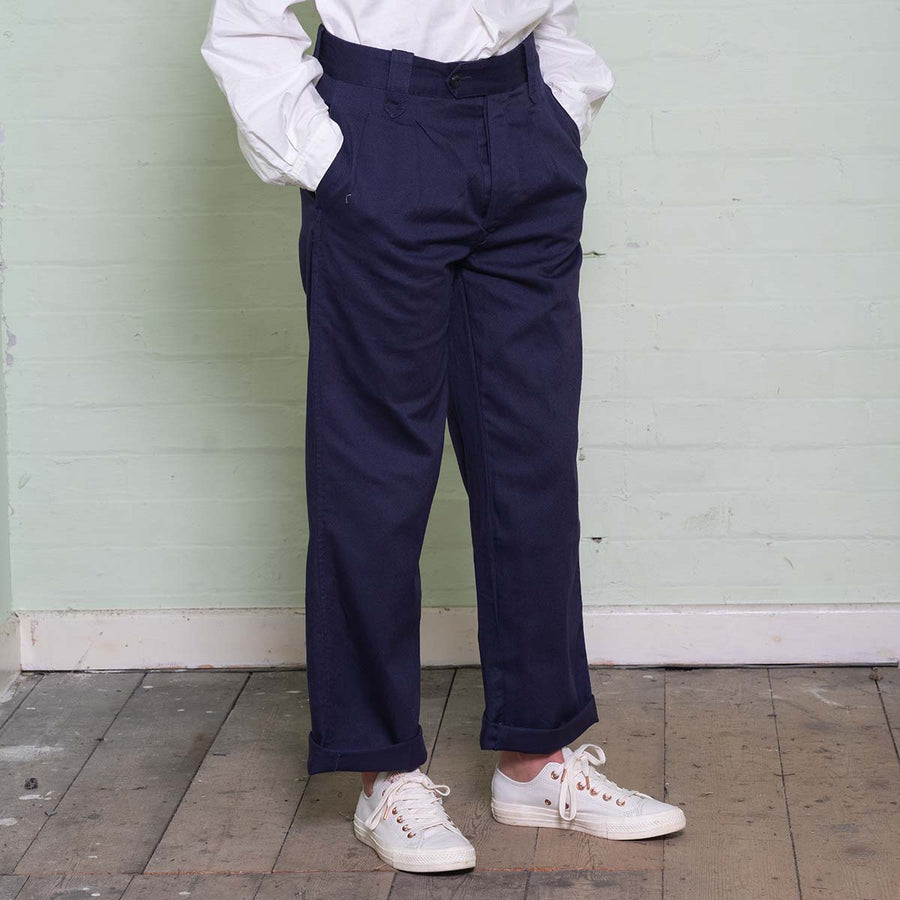 The Work Trousers - Navy
