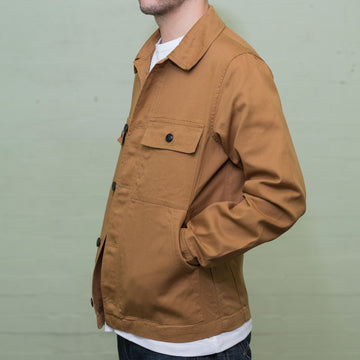 The Drivers Jacket - Khaki