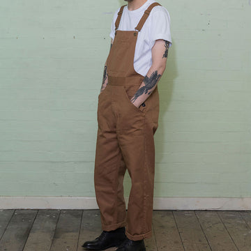 The Bib and Brace - Khaki