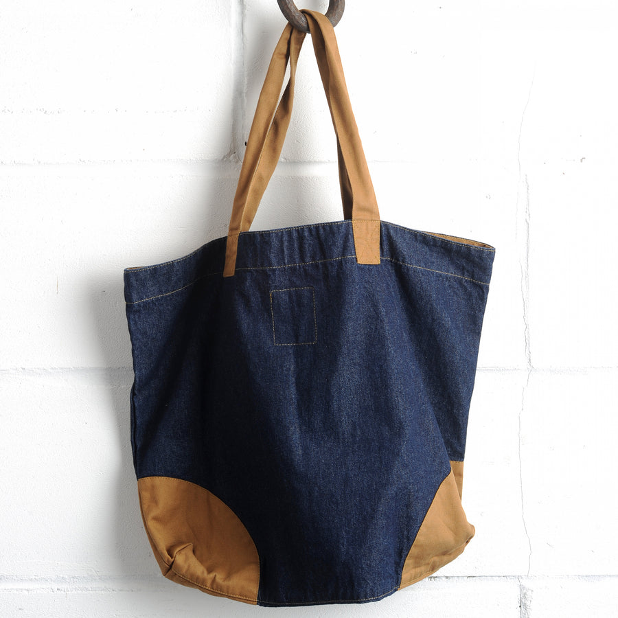 The Shopper - Denim/Khaki