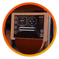 Clearlight Sanctuary Y TABLET / SMARTPHONE CONTROL