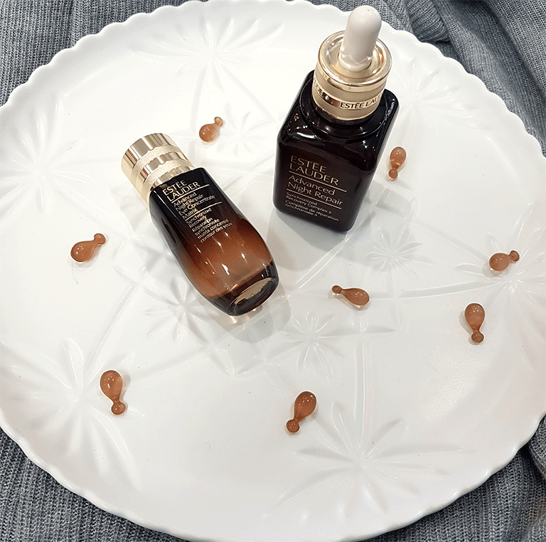 Etsee Lauder Advanced Night Repair Flatlay