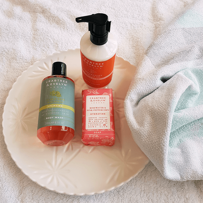 Crabtree & Evelyn Body Wash, Soap & Argan Oil