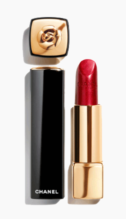 Chanel Rouge Allure Camelia - Limited Edition Rouge Intense and Rouge Velours Lumineux | 607 Rouge Allure Camelia Rouge Metal