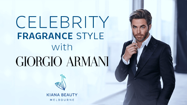 Celebrity Fragrance Style with Giorgio Armani