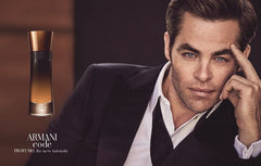 Armani Code Profumo with Chris Pine, buy online from Australian stockist Kiana Beauty Melbourne