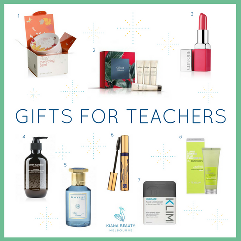 Kiana Beauty Christmas 2016 Gift Guide for Teachers