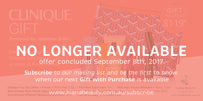 Clinique Gift Time | Your Bonus Gift with Purchase Available until September 10th