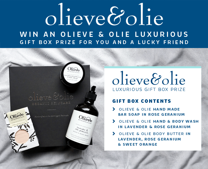 Olieve & Olie Giveaway