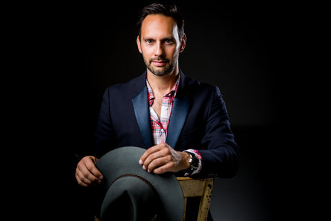 Dimitri Weber, founder of luxury perfume brand, Goldfield & Banks