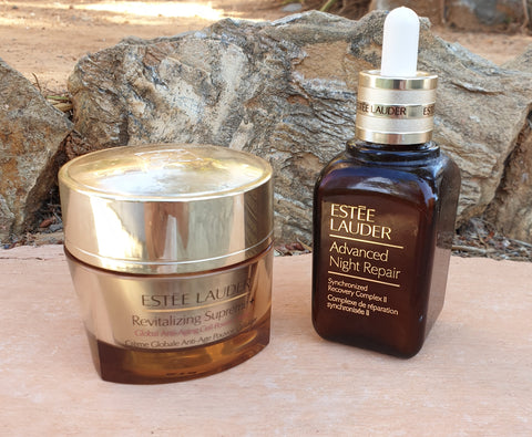 Kiana Beauty | Estee Lauder | Advanced Night Repair and Revitalizing Supreme + Global Anti-Aging Cell Power Creme