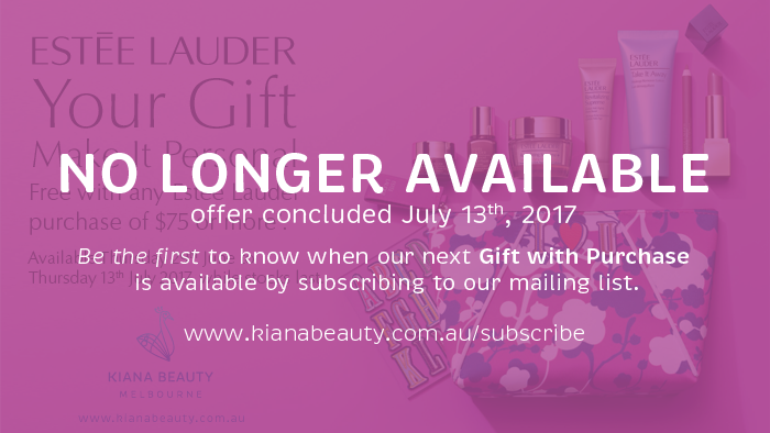Estee Lauder Gift Time at Kiana Beauty I Your Gift with any Estee Lauder purchase of $75 or more