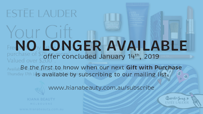 Estee Lauder GWP No Longer Available January 14th 2019