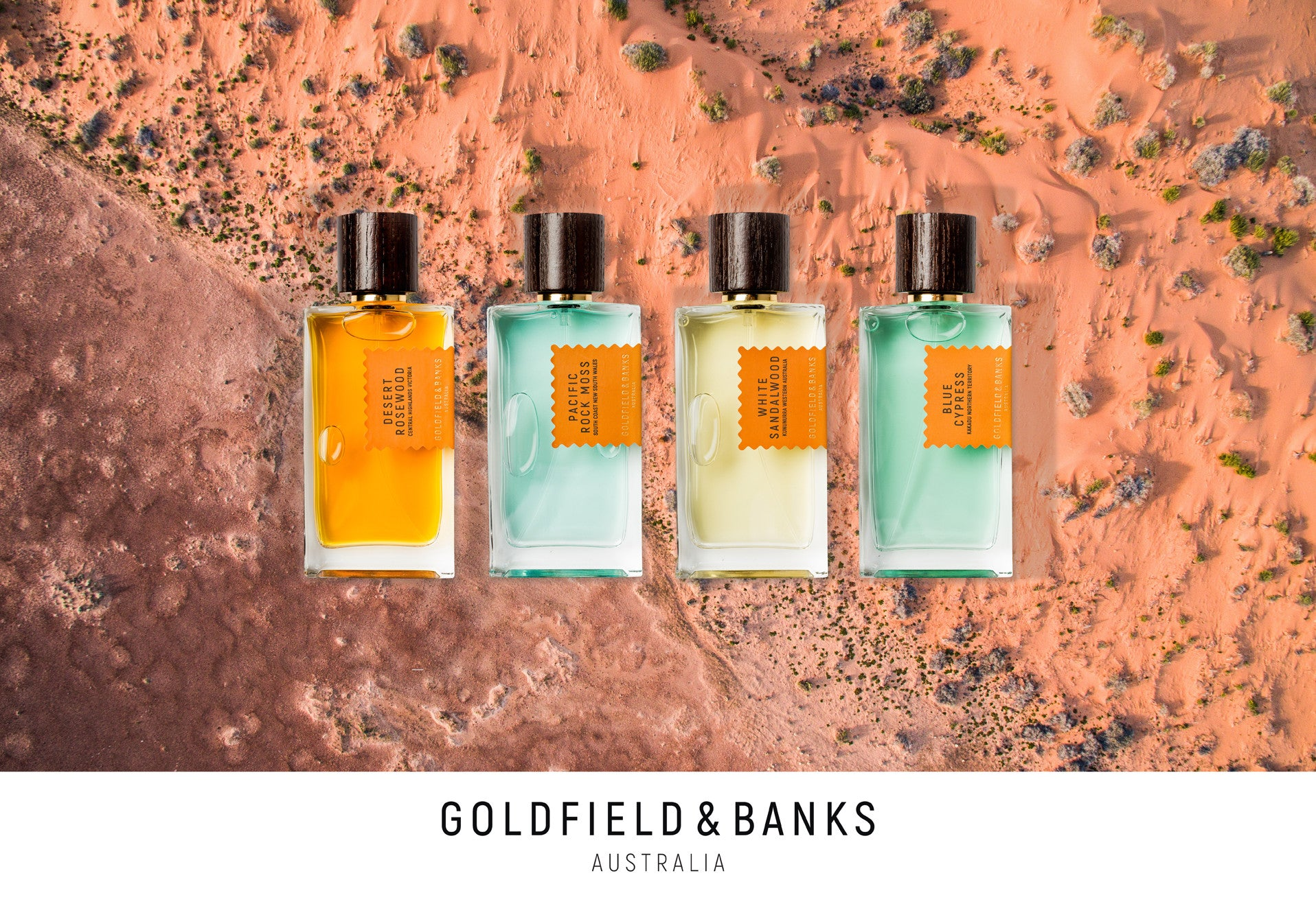 Goldfield & Banks Australia Natural Perfumes, available now at Kiana Beauty