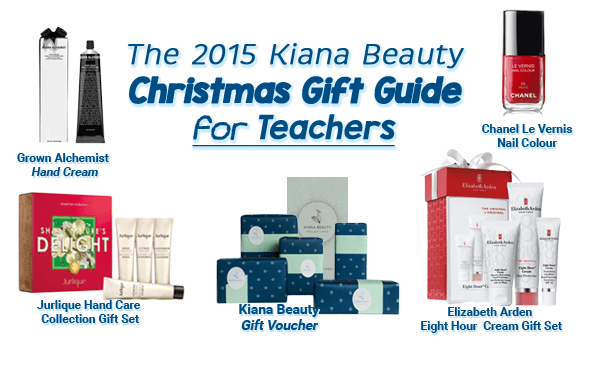 The 2015 Kiana Beauty Christmas Gift Guide for Teacher Gifts