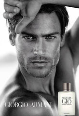 Giorgio Armani Acqua di Gio advertisement with Jason Morgan.