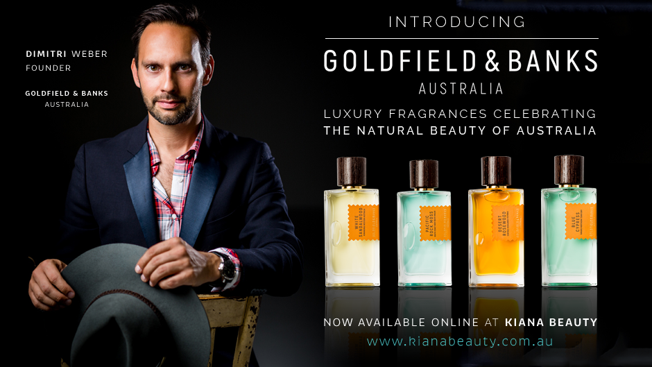 Goldfield & Banks - Now Available on Kiana Beauty