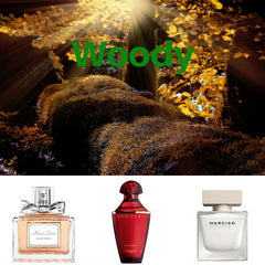 Buy online Woody fragrances from Australian stockist Kiana Beauty.