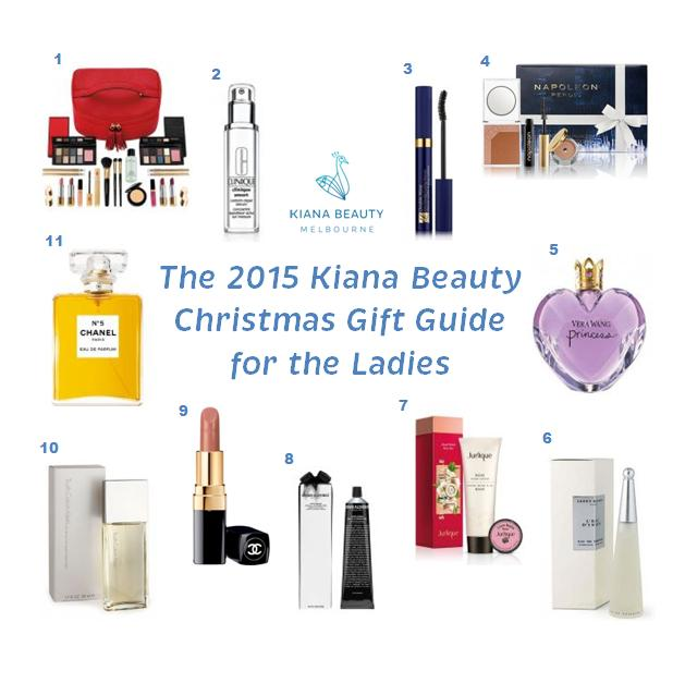 The 2015 Kiana Beauty Christmas Gift Guide for the Ladies