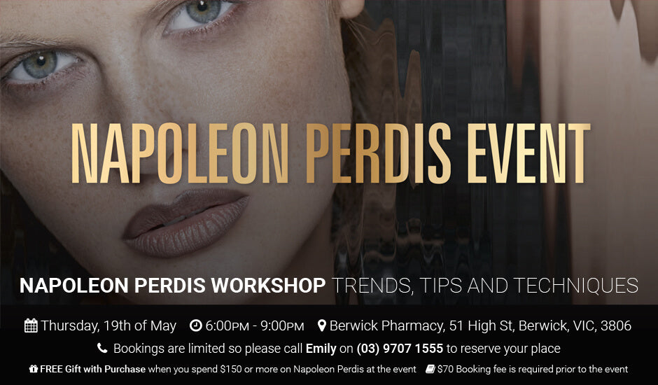Napoleon Perdis May 19th Event