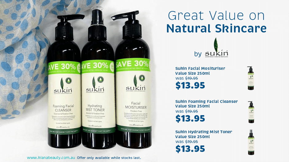 Sukin Great Value Skincare